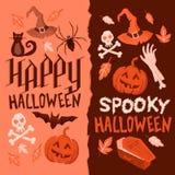 Fondos de Halloween Foto de archivo