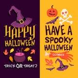 Fondos de Halloween Imágenes de archivo libres de regalías