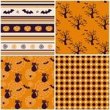 Fondos de Halloween. Ejemplo del vector. Imagen de archivo libre de regalías