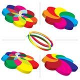 Fondos de la gama de colores de la guía del color Fotografía de archivo libre de regalías