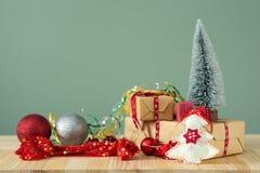 Fondos 2018 de la Navidad Foto de archivo