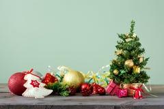 Fondos 2018 de la Navidad Imágenes de archivo libres de regalías