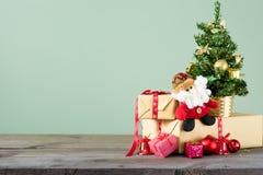 Fondos 2018 de la Navidad Foto de archivo libre de regalías