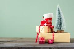 Fondos 2018 de la Navidad Fotos de archivo libres de regalías