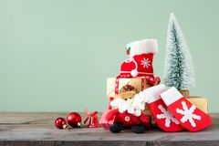 Fondos 2018 de la Navidad Fotografía de archivo libre de regalías