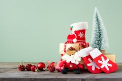 Fondos 2018 de la Navidad Imagen de archivo libre de regalías