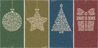 Fondos de la Navidad Imagen de archivo