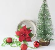 Fondos de la Navidad Decoración de la Navidad Foto de archivo