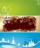 Fondos de la Navidad, vector Fotos de archivo