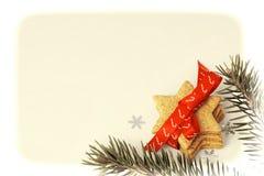 Fondos de la tarjeta de Navidad Fotos de archivo libres de regalías