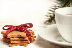 Fondos de la tarjeta de Navidad Imagen de archivo libre de regalías
