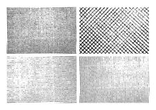 Fondos de la textura de la raya del Grunge fijados Foto de archivo libre de regalías