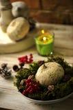 Fondos 2017 de las decoraciones de la Navidad Imagen de archivo