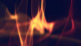 Fondos de las ondas del fuego rojo libre illustration