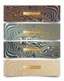 Fondos de mármol abstractos ilustración del vector