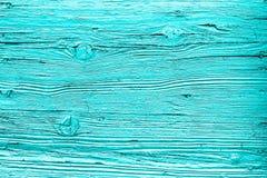 Fondos de madera ciánicos de la textura Imagenes de archivo