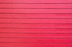 Fondos de madera rojos artificiales Foto de archivo libre de regalías
