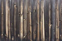Fondos decorativos de la textura del grano de madera del tablón Foto de archivo