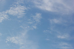 Fondos del cielo y de las nubes Fotos de archivo