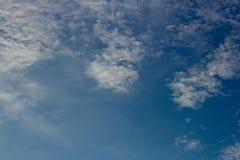 Fondos del cielo y de las nubes Imagenes de archivo