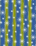 Fondos del copo de nieve de Navidad Fotografía de archivo libre de regalías