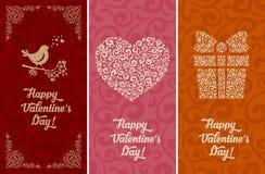 Fondos del día de tarjetas del día de San Valentín Imagen de archivo