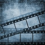 Fondos del efecto de la tira de la película de Grunge Fotografía de archivo
