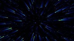 Fondos del espacio de la velocidad de la luz ilustración del vector