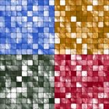 Fondos del mosaico del azulejo Imagenes de archivo