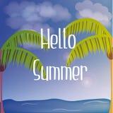 Fondos del verano Imagen de archivo