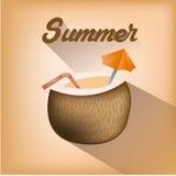 Fondos del verano Fotografía de archivo
