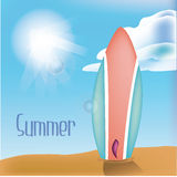 Fondos del verano Imagen de archivo libre de regalías