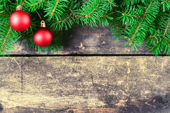 Fondos del vintage de la Navidad Foto de archivo libre de regalías