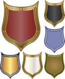 Fondos - escudo Fotografía de archivo