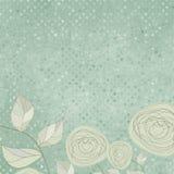 Fondos florales con las rosas de la vendimia. EPS 8 Fotografía de archivo libre de regalías