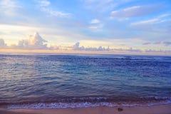 Fondos hermosos de la playa Imagenes de archivo