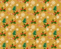 Fondos inconsútiles s del modelo de la Navidad stock de ilustración