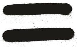 Fondos, líneas y goteos del vector del extracto del detalle de la pintura de espray los altos fijaron 58 Foto de archivo