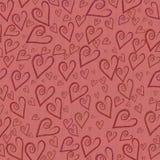 Fondos románticos del corazón Imagen de archivo