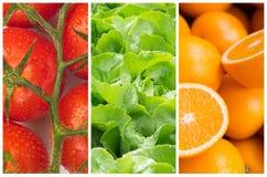 Fondos sanos de la comida Imagen de archivo libre de regalías