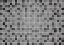 Fondos y textura negros del vector del polígono Foto de archivo libre de regalías