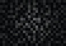 Fondos y textura negros del vector del polígono Imagen de archivo