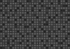 Fondos y textura negros del vector del polígono Fotografía de archivo libre de regalías