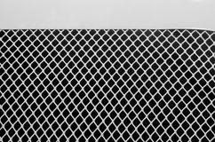 Fondos y texturas de la rejilla del metal Imagen de archivo