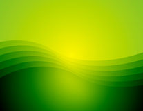 FondoX5_D. A computer generated background of a graceful wave in varying shades of green Royalty Free Illustration