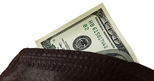 Fonds auf einem weißen Hintergrund Lizenzfreie Stockfotografie