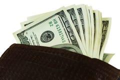 Fonds auf einem weißen Hintergrund Lizenzfreies Stockbild