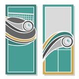 Fonds d'image pour le texte au sujet du ping-pong Photographie stock
