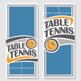 Fonds d'image pour le texte au sujet du ping-pong Image libre de droits