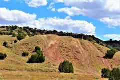 Fonds de tour de rassemblement de liberté du courrier 86 de légion américaine - éleveur en Arizona du nord, Etats-Unis photos libres de droits